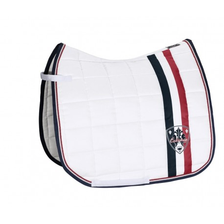 Eskadron Schabracke Big Square Stripe Classic Sports FS 17 chocochip, powderrose, pepperred, midgreen, navy, offwhite