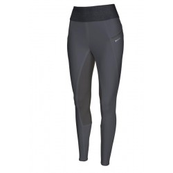 Pikeur HANNE Grip Athleasure Damenreithose dark shadow, Reitleggings Regings