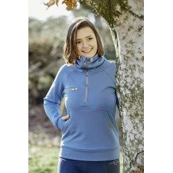 Covalliero Damen Sweatshirt Liv moonlight blue rosegold