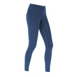 Covalliero Kinder Reitleggings Emporia Mod. 2018 midblue navy darkgrey