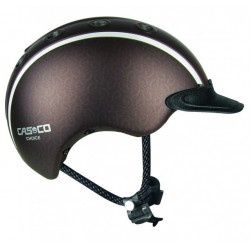 Casco Reithelm Choise braun metallic