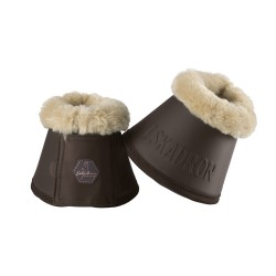 Hufglocken FAUXFUR brown
